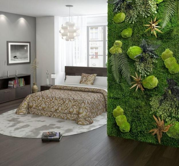 Benefits Of Accent Wall Design With Moss Stunning Green Ideas For Modern Interiors