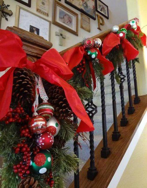 Decorating Your Stairs Christmas