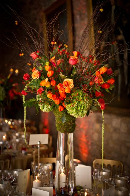 Beautiful Thanksgiving Decorating Floral Arrangements For