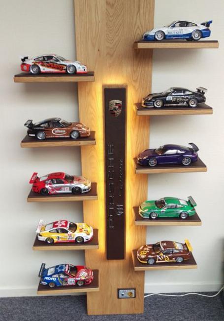Shelves Decorating Living Room