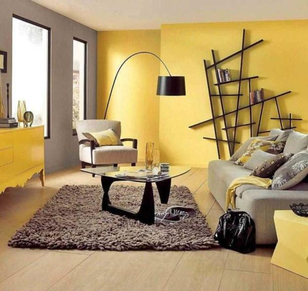 Bright Yellow And White Decorating Ideas Sunny Color