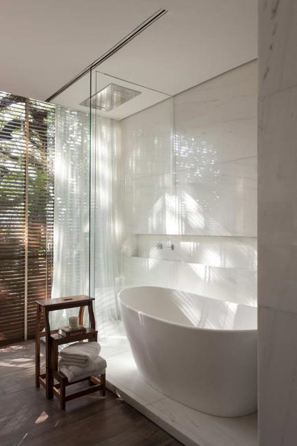Modern Bathroom Trends Relaxing Luxury Of Walk In Shower Designs