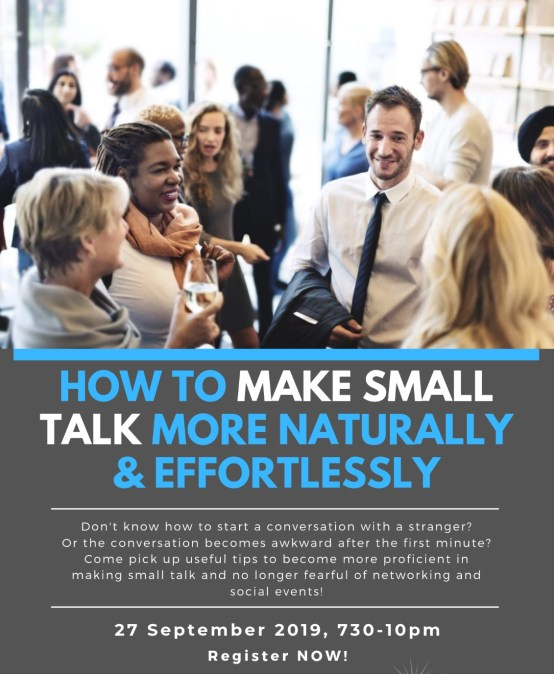 How to make small talk more naturally and effortlessly