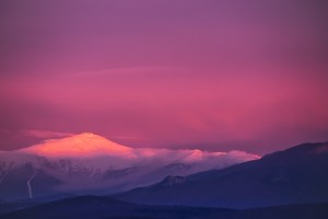 Alpenglow, Mt Washington