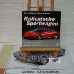 Italienische Sportwagen by Halwart Schrader. Hardcover (in slipcase). Language German. Price euro 25,00