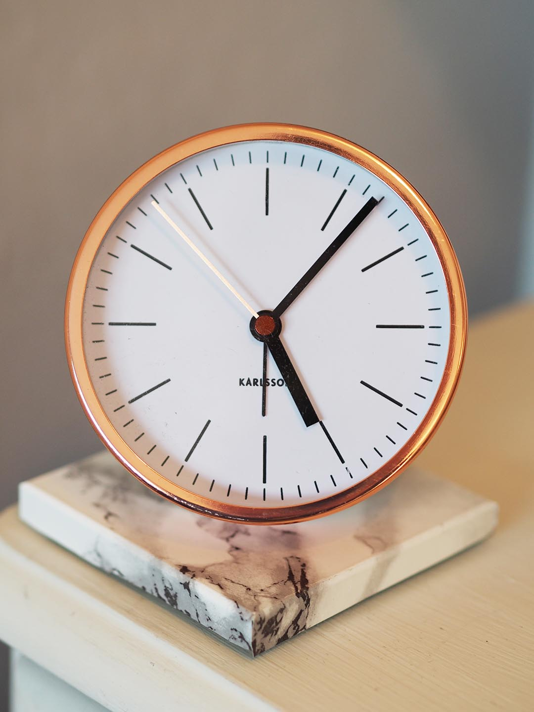 Karlsson Copper Alarm Clock