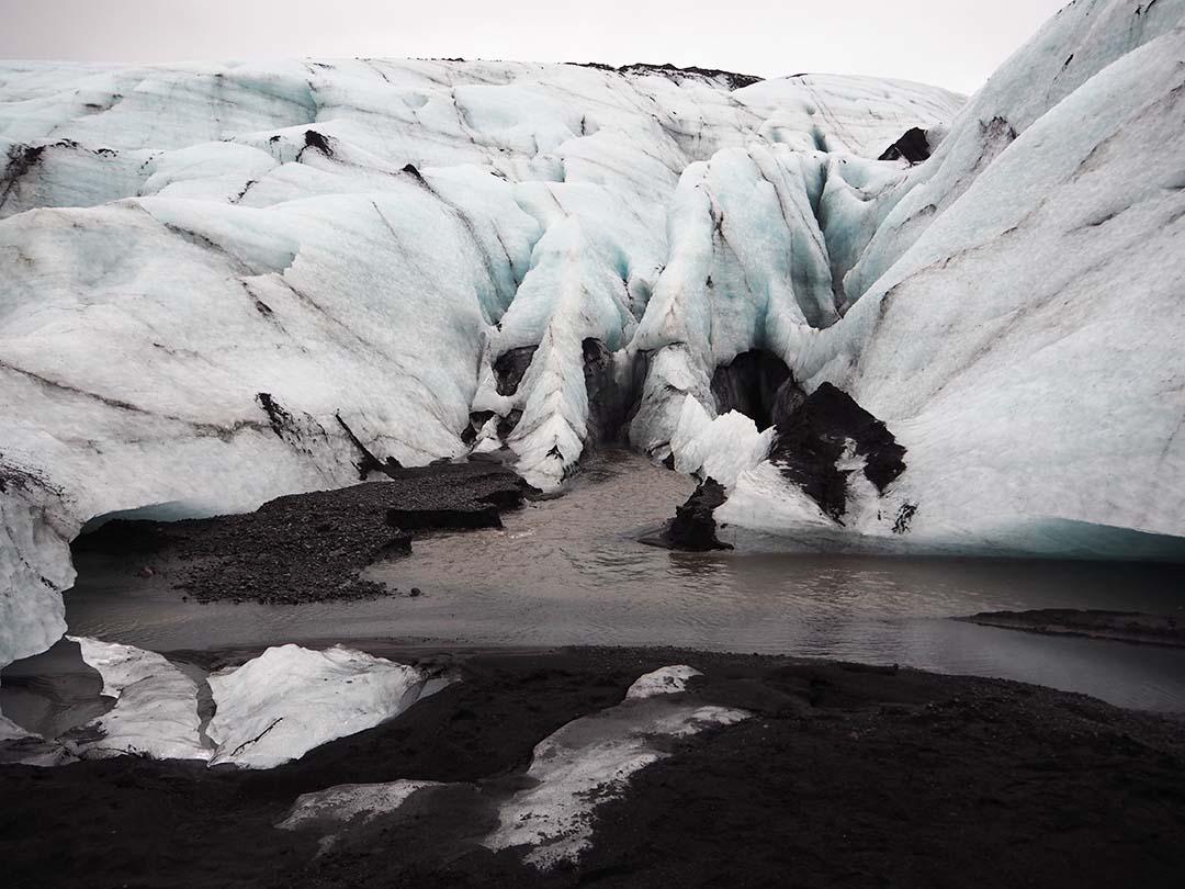 Iceland Myrdalsjokull Glacier