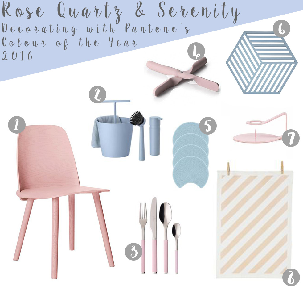 Pantone Colour of the Year 2016 Dining