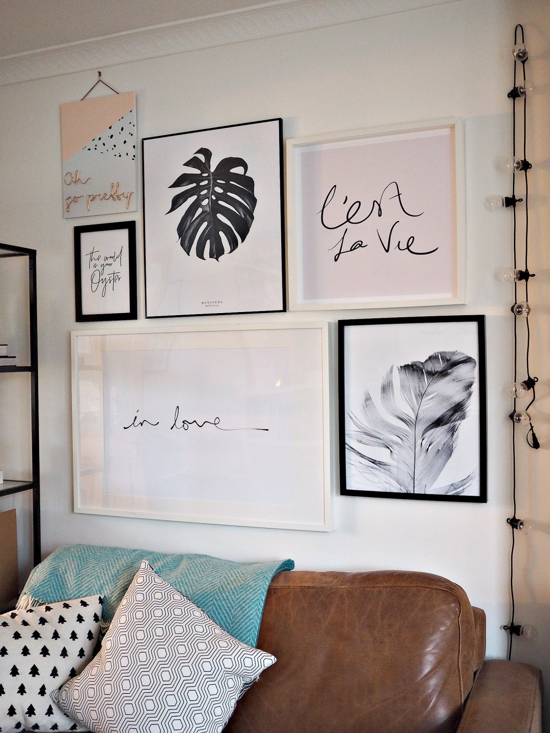 Scandinavian Gallery Wall