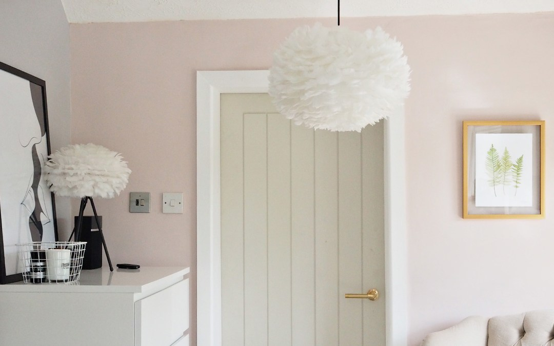 Dreamy Goose Feather Lamps