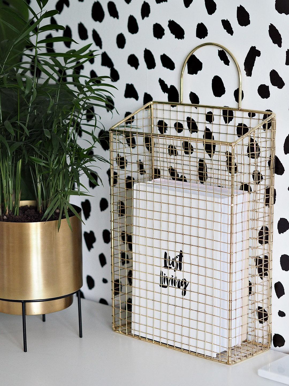 Dalmatian Print Wallpaper