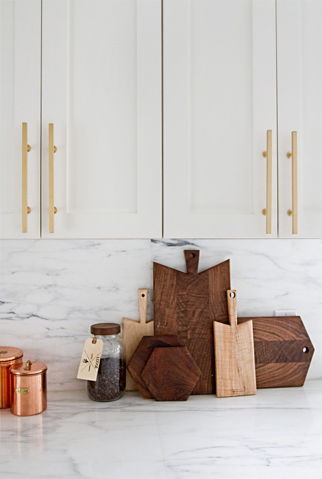 Brass Kitchen Handles