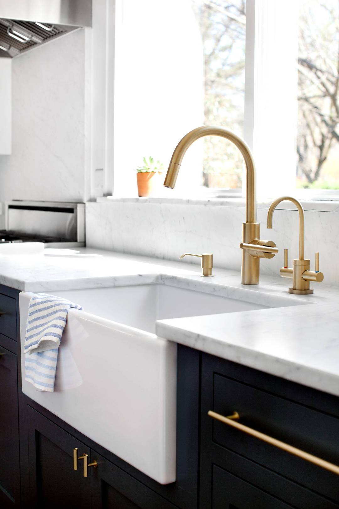Gold Kitchen Taps