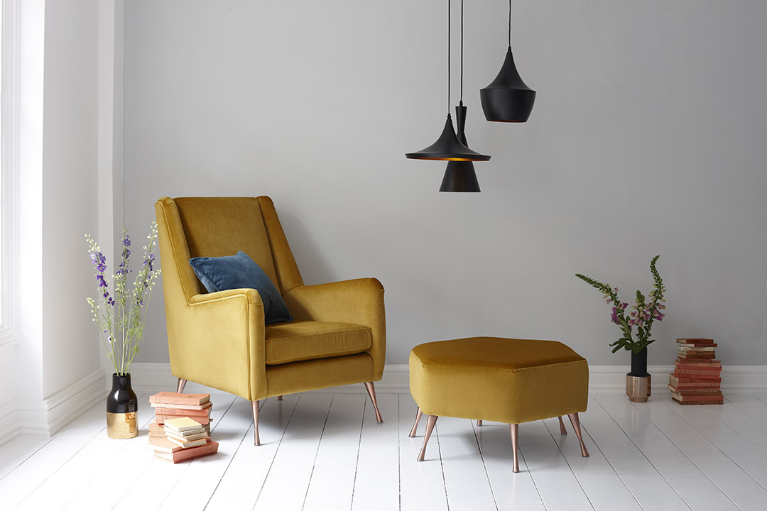 DFS Capsule Collection Peace Armchair