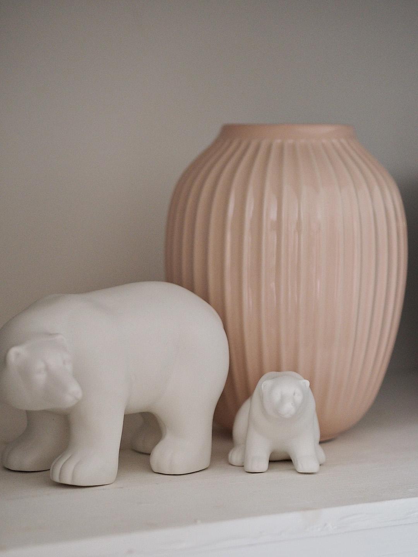 Kahler Hammershoi Vase Pink