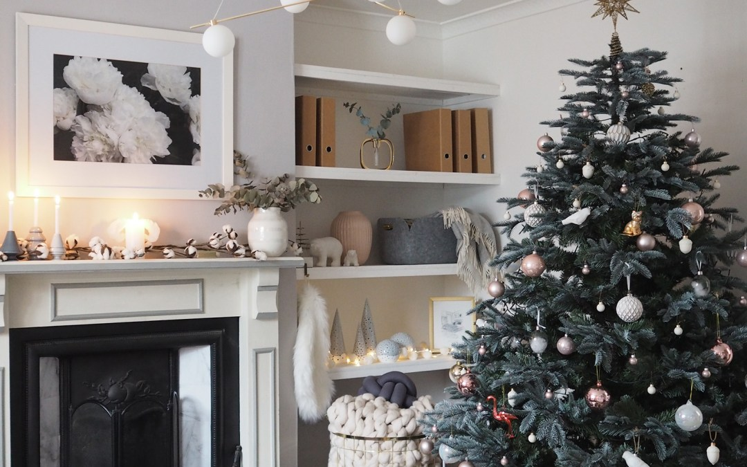 A Scandinavian Christmas With A Feminine Touch