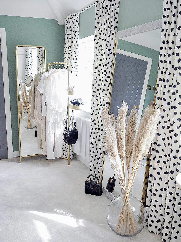 Dalmatian Print Spotty Polkadot Curtains