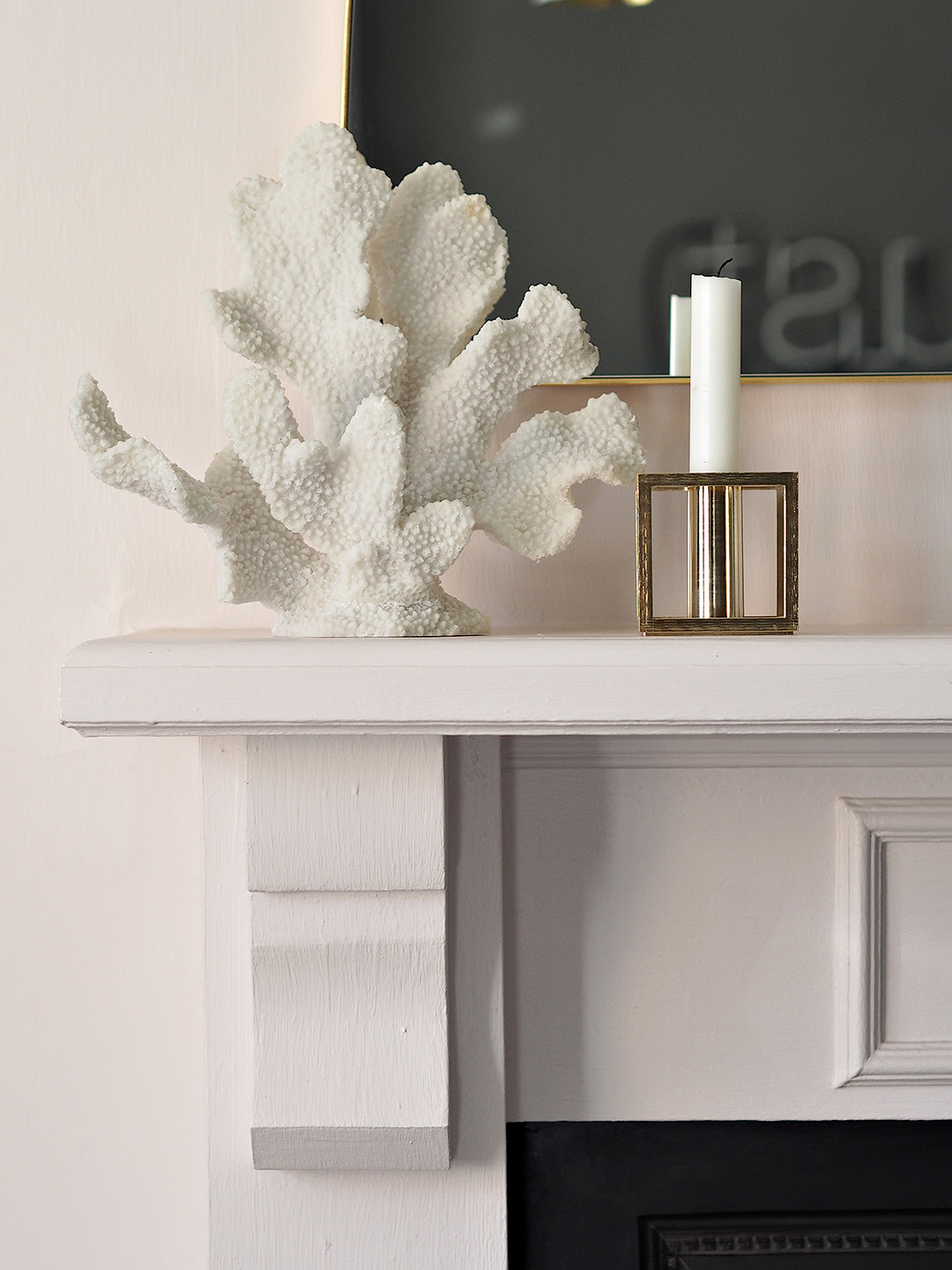 Faux Coral Ornament