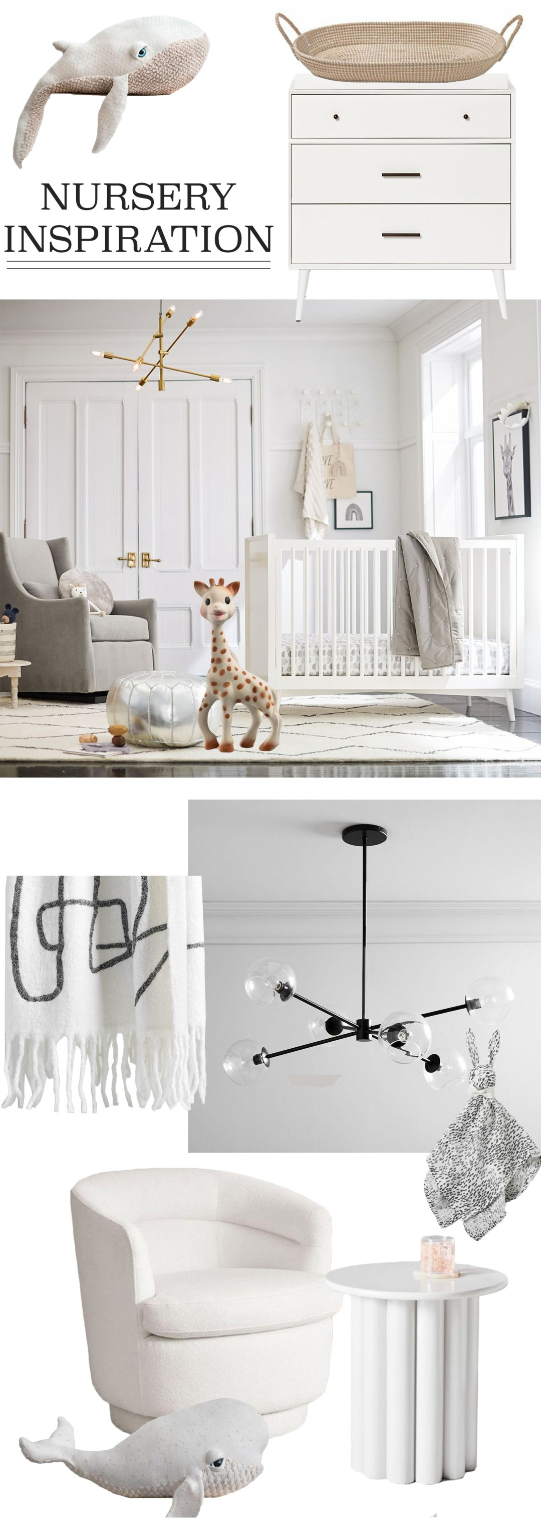 Neutral Monochrome Nursery Ideas