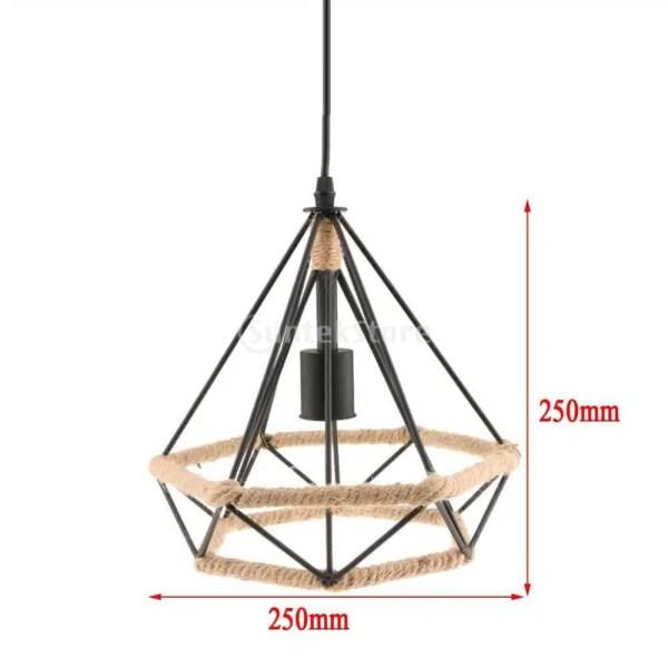 luminaire à suspension diamant
