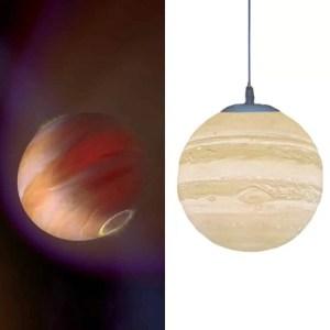 Lustre planète Jupiter
