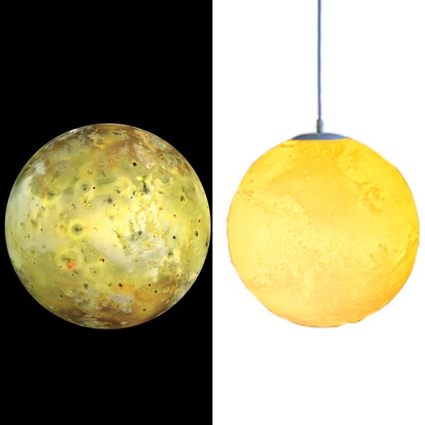 Lustre planète Mars