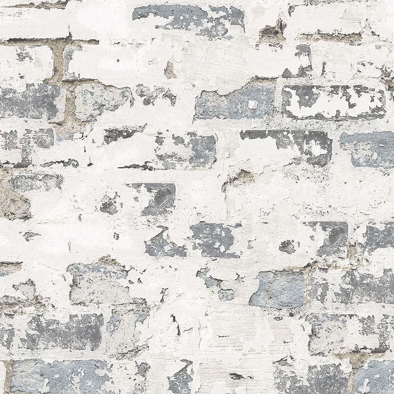 papier peint vieux mur brique grise