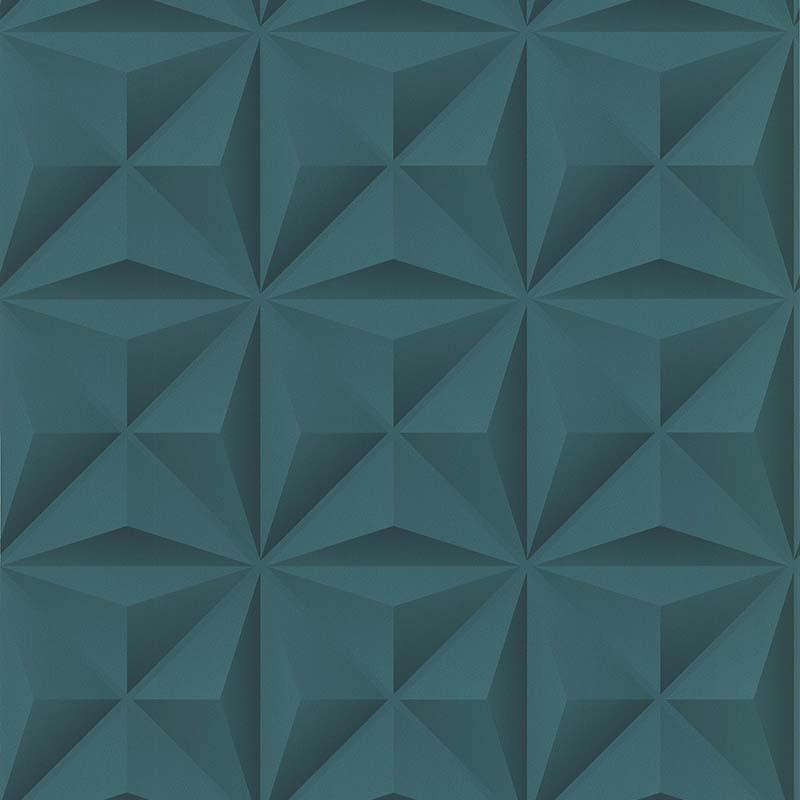 wallpaper lys 3d vert emeraude