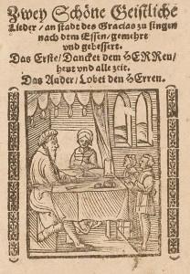 Lobet den Herren denn (Title Page)