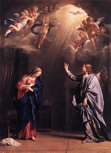 Annunciation CHAMPAIGNE Philippe de c 1644
