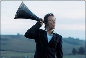 megaphone-hearing-God