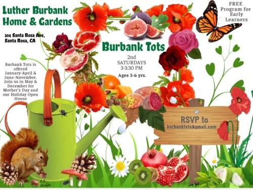 Burbank Tots 2020 flyer