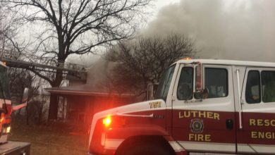 Photo of Fire Destroys Luther Home