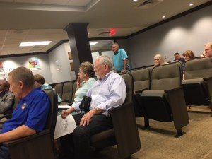 Mike Vorel at the Oklahoma County Planning Commission