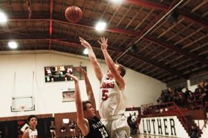 Photo of Luther Beats Meeker in Home Opener