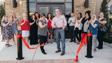 Photo of Open for Business, Luther's New BancFirst