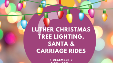 Photo of Luther Tree Lighting, Carriage Rides and Santa Event on Dec 7