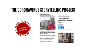 Photo of Coronavirus Storytelling Project, some back story