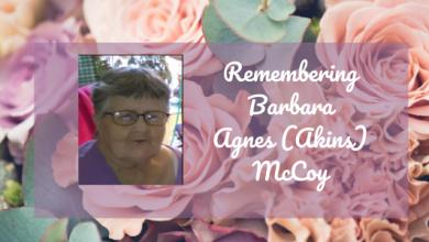 Photo of Obituary: Barbara Agnes (Akins) McCoy