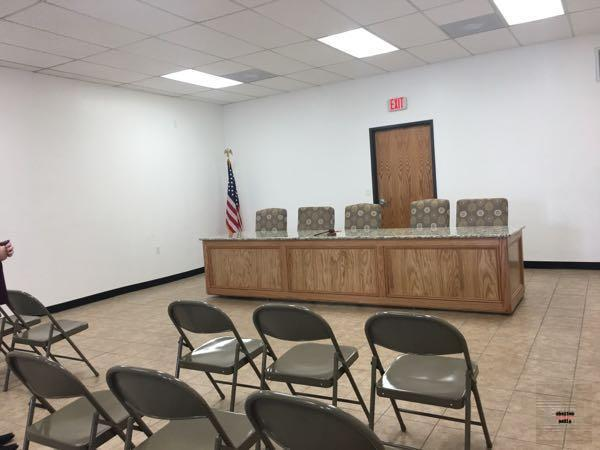 Meeting Space and Courtroom in the former Police Department