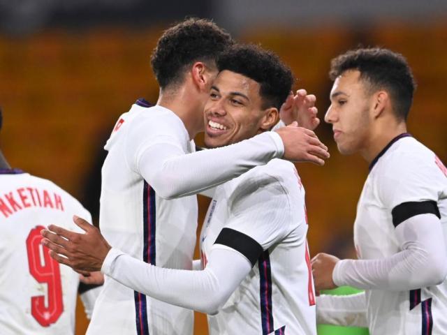 VIDEO: Former Hatter James Justin scores maiden England U21 goal | Luton  Today