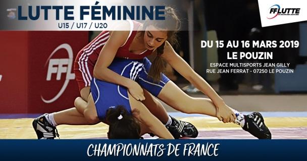 Gaëlle RUIZ : Championne de France U20 en 57 kg