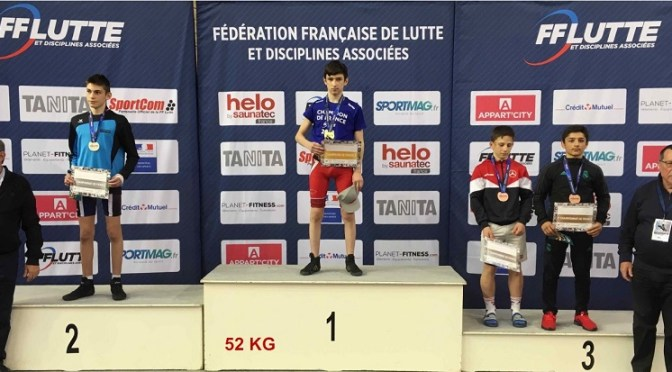 Article du JSL : Eliot Virot (Champforgeuil) est vice-champion de France