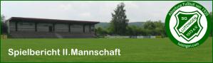 Bild SGL Fußball Spielbericht II.Mannschaft