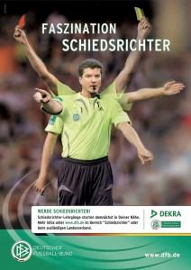 Plakat Schiedsrichter DFB