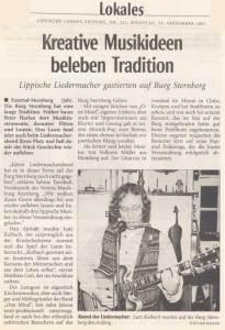 Lutz Strassenroller - Kreative Musikideen beleben Tradition