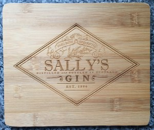 Sally's Gin Chopping Board