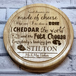 Sweet Dream Cheese Board Circle