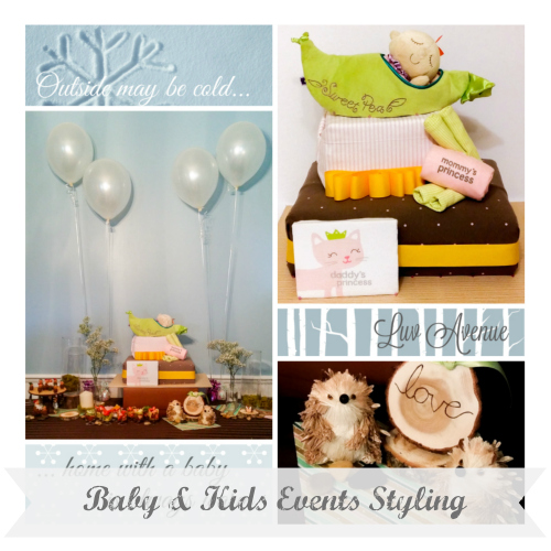 Baby and Kids Events Styling Luv Avenue