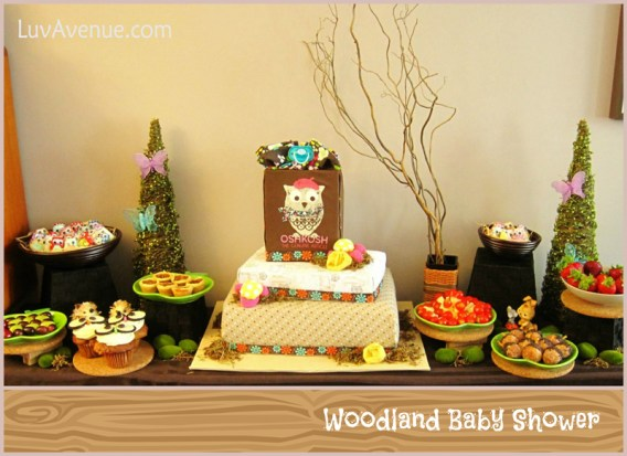 Woodland Baby Shower Luv Avenue